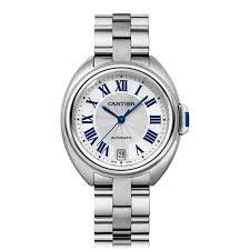 replica watch of cartier-cle-automatic-ladies-watch